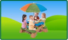 Picknicktafels en accessoires