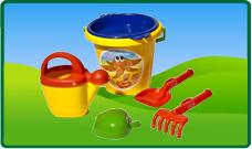 Zand -en strandspeelgoed