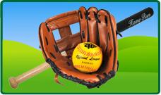 Honkbal en slagbal
