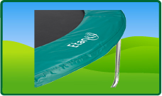 Trampoline randen