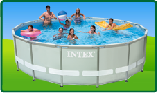Intex Ultra en Prism Frame Pools