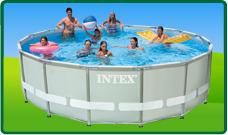 Intex Ultra en Prism Frame Pools