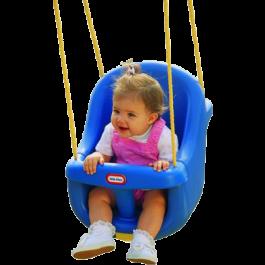 Little Tikes Babyschommel Highback - Blauw