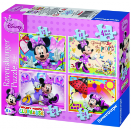 puzzle Minnie Mouse (12, 16, 20, 24)