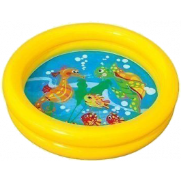 Intex Baby Zwembad Geel Ø 61 x 15 cm - (59409)