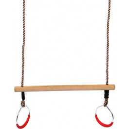 SwingKing Trapeze met Metalen Turnringen