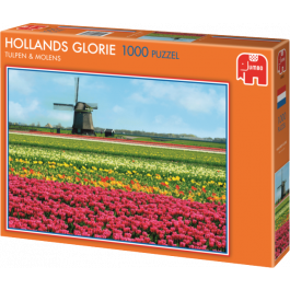 Hollands glorie - tulpen en molens (1000)