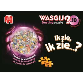 Wasgij Destiny 10.Chaos in de Winkelstraat (1000)