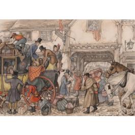 Anton Pieck - De Postkoets (1000)