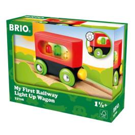 BRIO Mijn eerste wagon met licht