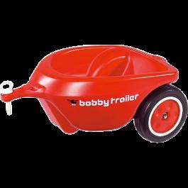BIG Bobby Car Nieuw aanhanger rood.