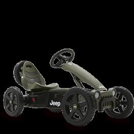 BERG Skelter Jeep Adventure Pedal Go-kart
