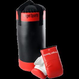 Bokszak met Bokshandschoenen Angel Sports 50cm