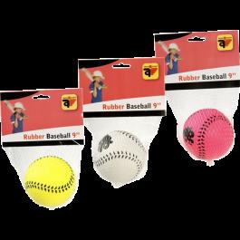 Honkbal 9 inch (7cm) rubber