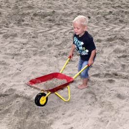 KinderKruiwagen Metaal Rood