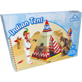 Indianen Wigwam Tent (100 x 100 x 142 cm)