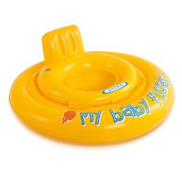 Intex Babyfloat Deluxe Drijfband Geel Ø 70cm - (56585)