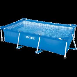 Intex Metal Frame Pool - 260 x 160 x 65 cm - (28271)