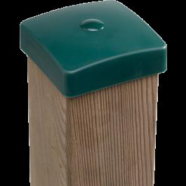 KBT - Paaldop Vierkant Groen 9x9cm