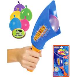 Waterballon Launcher met vuller en 100 waterballonnen