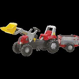 Rolly Toys - rollyJunior RT Tractor met Lader en Farmtrailer