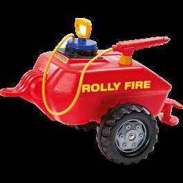 Rolly Toys - Brandweertrailer Rood 122967