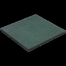 Rubbertegel groen 50 x 50 x 4,5cm