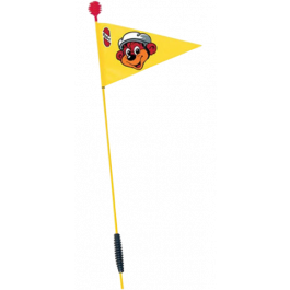 PUKY veiligheidsvlag (SW2) voor driewielers