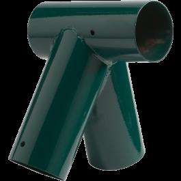 KBT Smart-Line Schommel Hoekverbindingsstuk 'Schuin' rond 100/80 groen