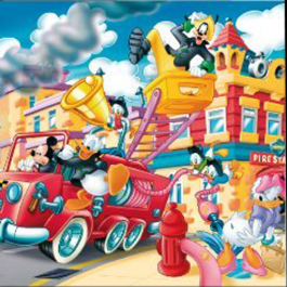 Mickey's ToonTown (4x6)