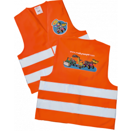 Rolly Toys - Oranje Veiligheidsvest 558698