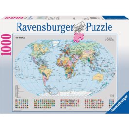 Puzzel Staatkundige wereldkaart (1000)