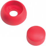 KBT - Kunststof afdekdop voor bouten - 8/10 mm Rood