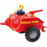 Rolly Toys - Brandweertrailer Rood 122967