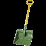 Rolly Toys - Kindersneeuwschuiver groen