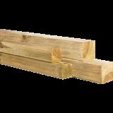 Geimpregneerde Grenen Paal 180cm (88x88mm) - Geschaafd Vierkant