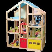 Melissa & Doug - Hoog houten poppenhuis