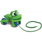 Melissa & Doug - Frolicking Frog Pull Toy