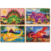 Melissa & Doug - Puzzles in a Box - Dino's