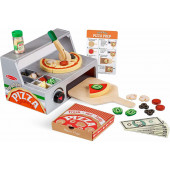 Melissa & Doug - Top & Bake Pizza Counter Play Set