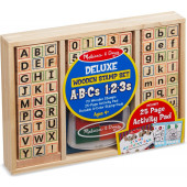 Melissa & Doug - Wooden ABC Activity Stamp Set - (40118)