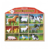 Melissa & Doug  Speelfigurenset in Kabinet (10 dlg) - Safari