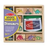 Melissa & Doug - Dinosaurus Stempelset
