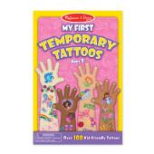 Melissa & Doug - Mijn Eerste Tijdelijke Tatoeages Roze