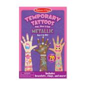 Melissa & Doug - Tijdelijke Tatoeages Metalic