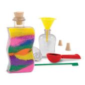Melissa & Doug - Zelf Versieren: Zandkunstflessen