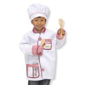 Melissa & Doug - Verkleedkleding Chef-Kok