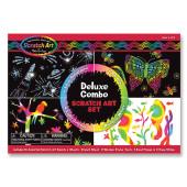 Melissa & Doug - Scratch Art-Set - Deluxe Combo Set