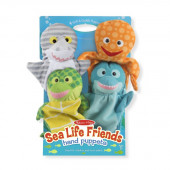 Melissa & Doug - Sea Life Friends Handpoppen