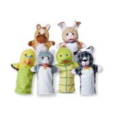 Melissa & Doug - Pet Buddies Hand Puppets (6 Pc)